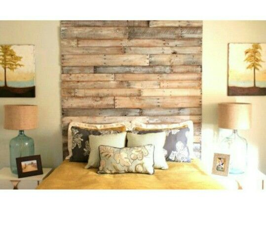 Feature Wall - cut off wood planks | Wallpaper | Pinterest | Wood ...