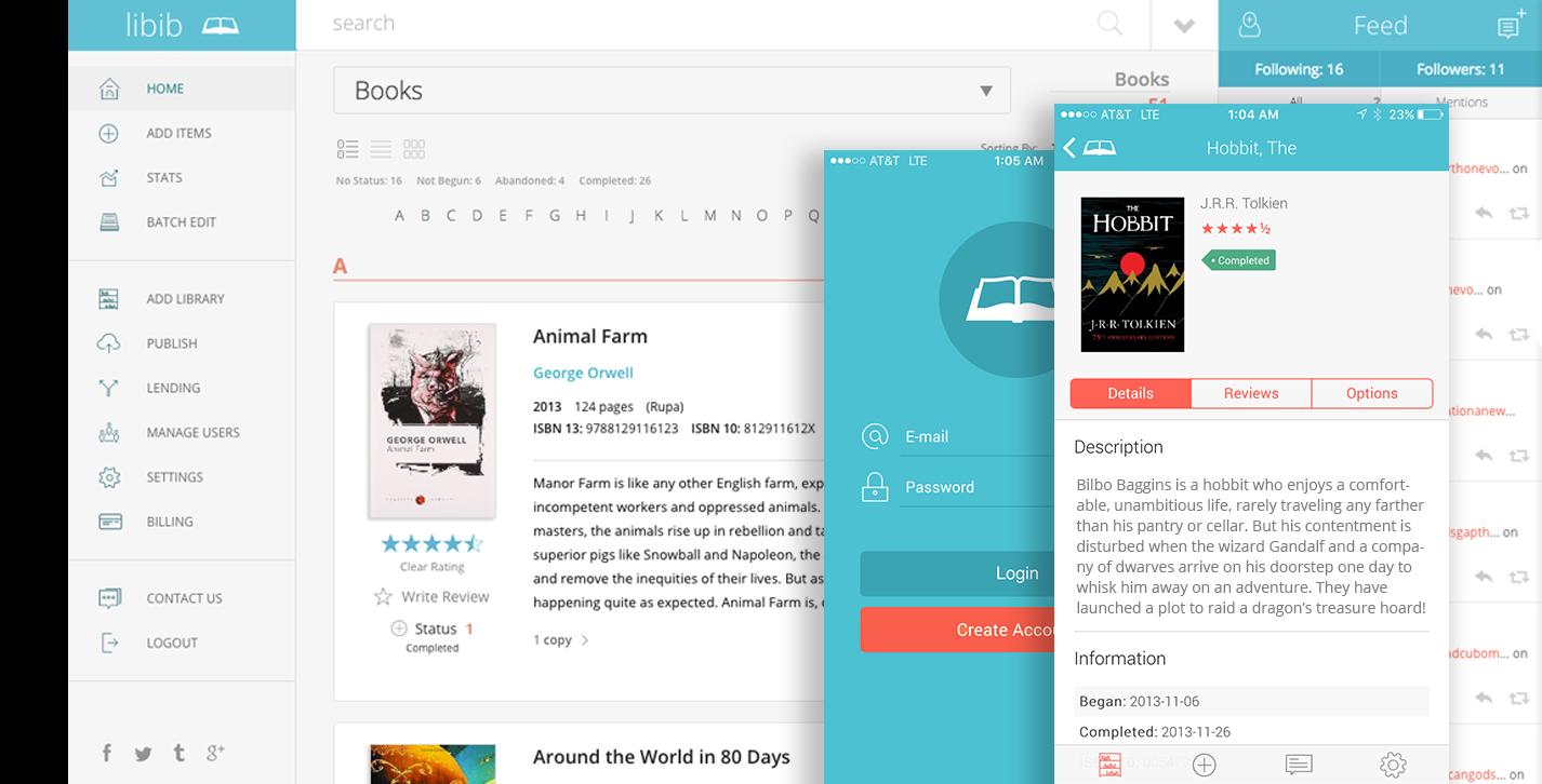 Libib com - Home library management web app (free for