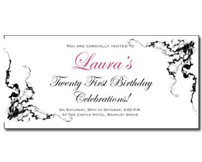 St Birthday Invites My Birthday Pinterest St Birthday - 21st birthday invitation templates