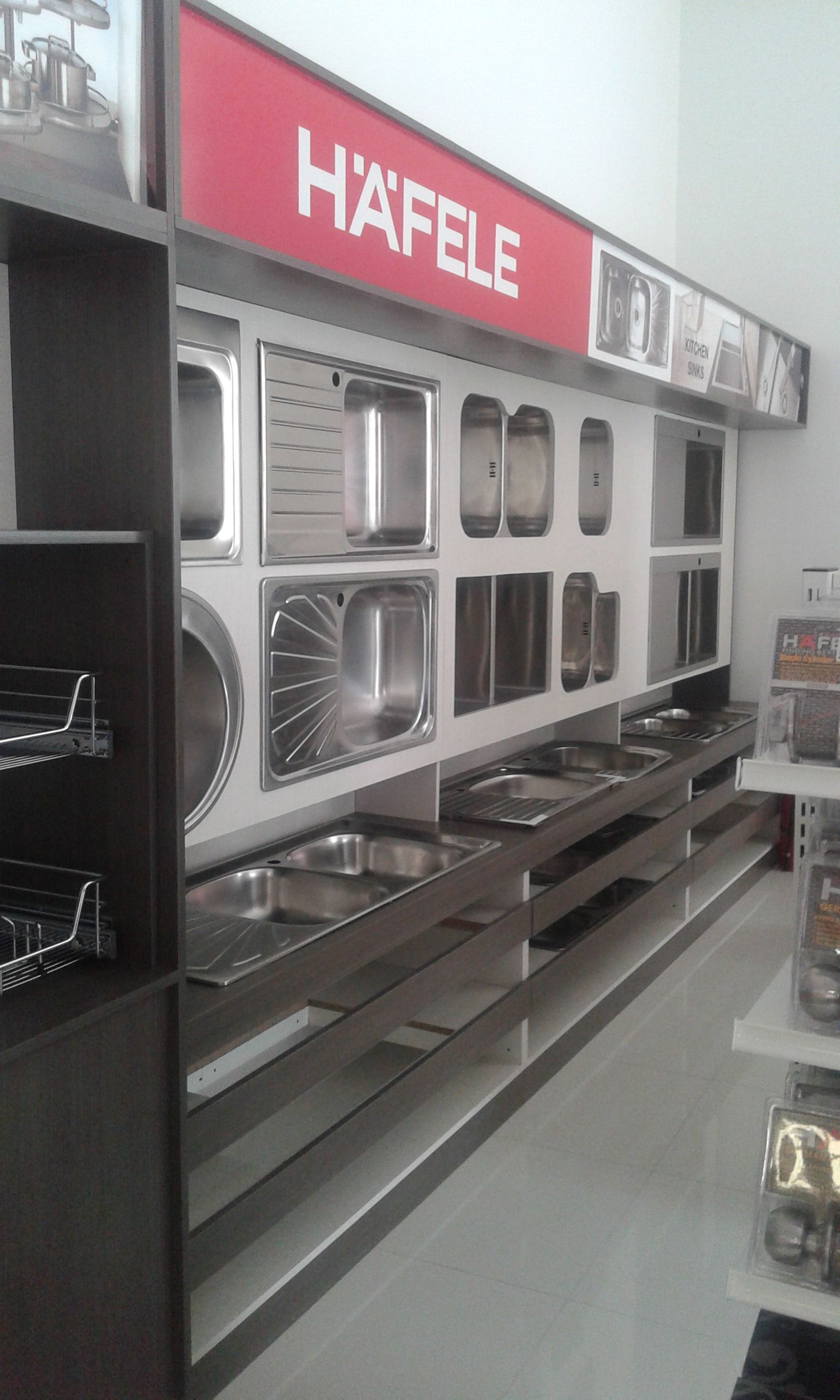 KITCHEN SINKS MODULE | 2015 HAFELE PHILS INC SHOWROOM DISPLAY ...