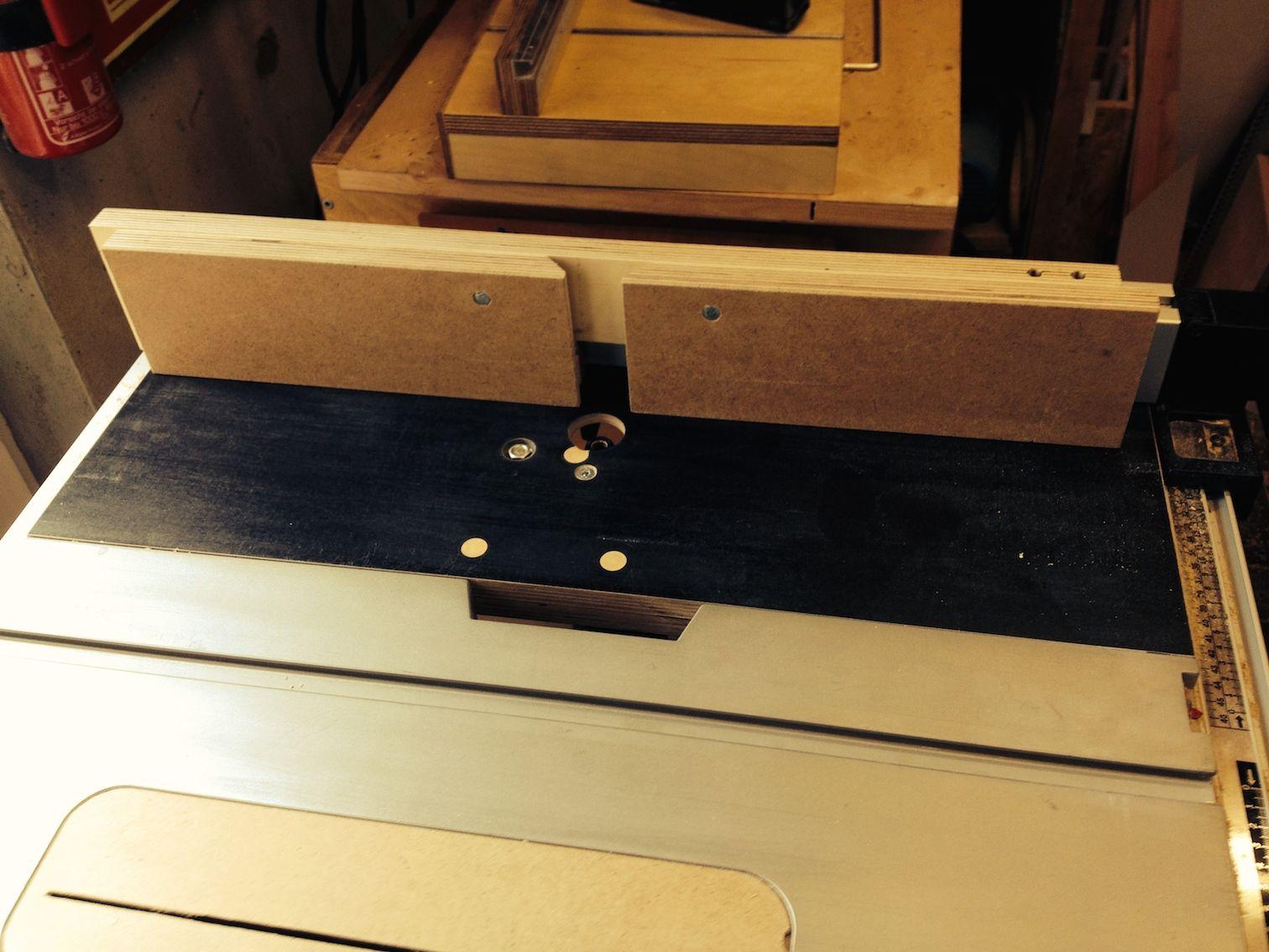 frästisch-einsatz für meine tischkreissäge bosch gts 10 j
