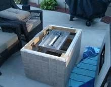 Incroyable DIY Gas Fire Pit Table   Bing Images More