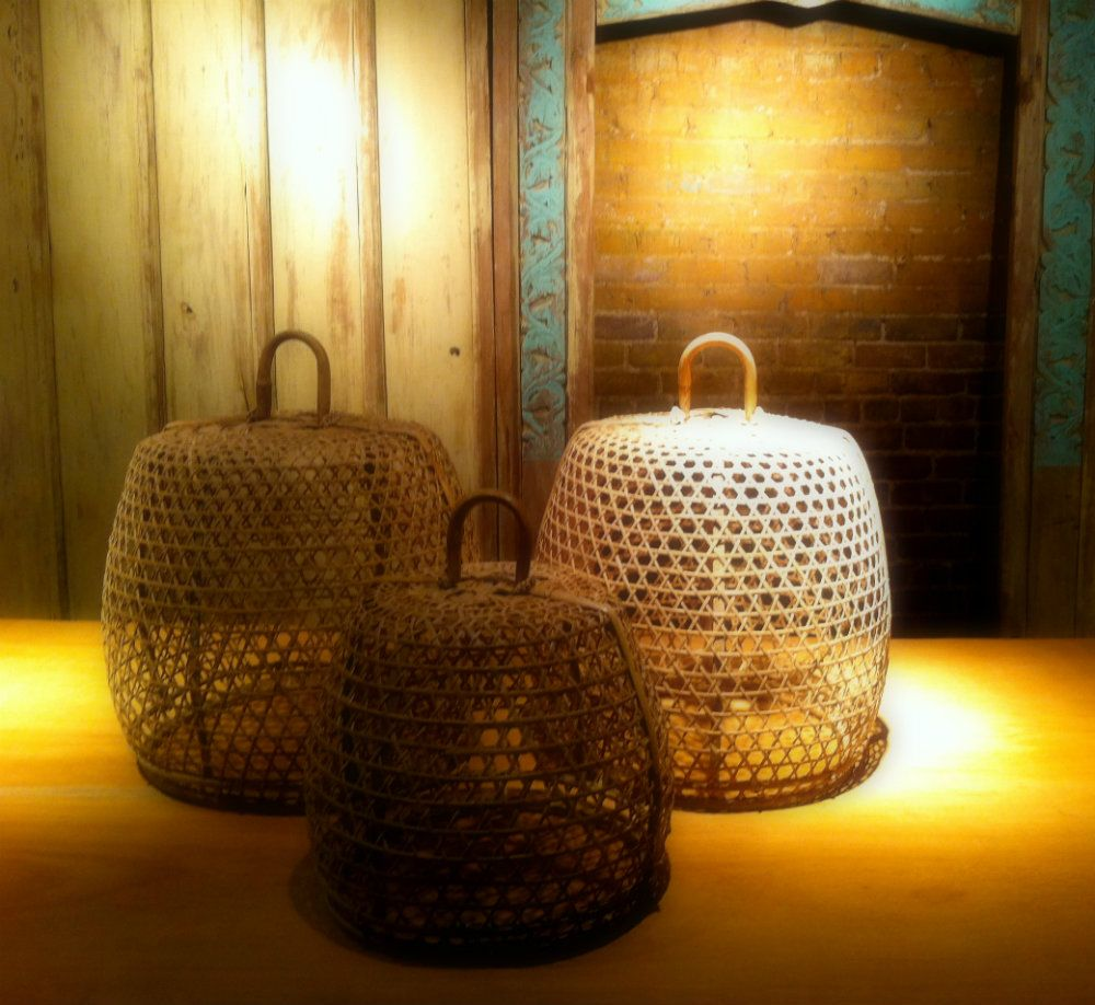 Handwoven Cock Baskets From Bali Great Decorative Conversation Pieces Now Available