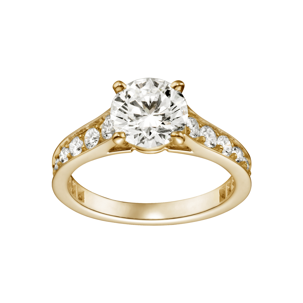 this is the ring that i want from cartier solitaire 1895 - Yellow Gold Wedding Rings
