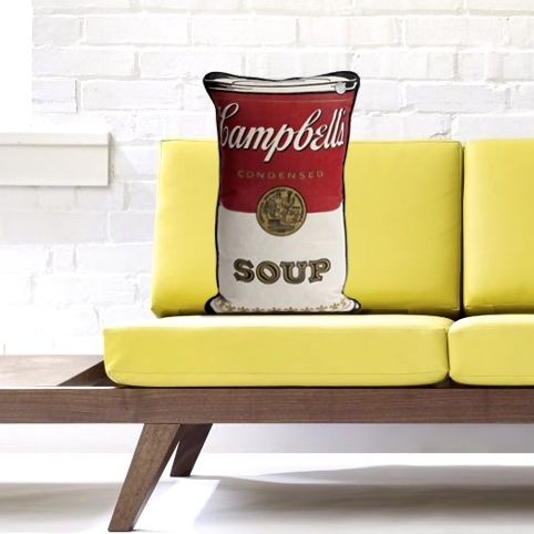 Made From A Vintage Cotton Campbell S Soup Laundry Bag Hard To Find Anymore We Have A Few So Some Can Have Their Own Campbell Soup Vintage Cotton Campbells