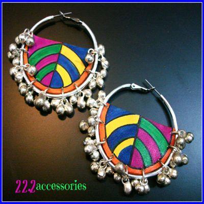super funky earrings