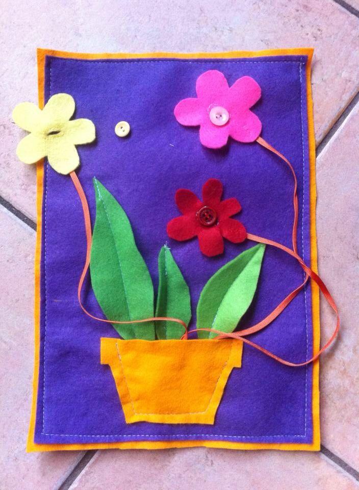Doe-doekje bloemen juf Tess