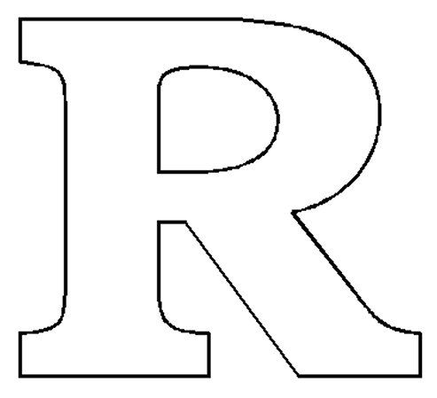 Images The Letter R  LetterRJpg  ColoringPainting Pages