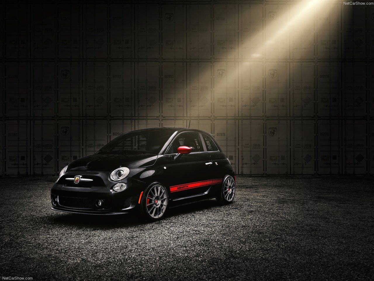 Abarth 500 Scorpion Black Car, Car wheels rims, Fiat 500