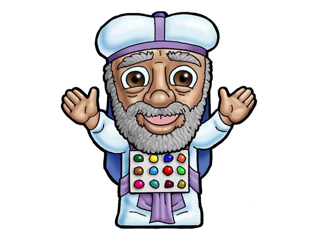 High Priest This Picture Can Be Used To Represent Any High Priest In The Bible Slide 15 Bible Characters Christian Illustration Free Christian Clip Art