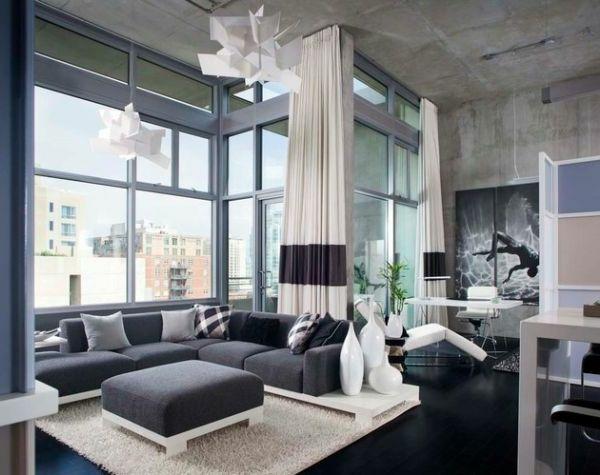 Moderne luxus wohnzimmer  Luxus Wohnzimmer einrichten - 70 moderne Einrichtungsideen ...