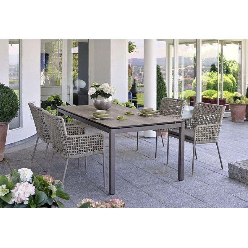 Greta Dining Sessel Stern Gartenmöbel Gartenmöbel Pinterest - gartenmobel weis metall