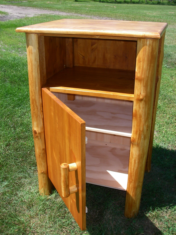 Roundwood (Log) Furniture (roundwood and timber framing