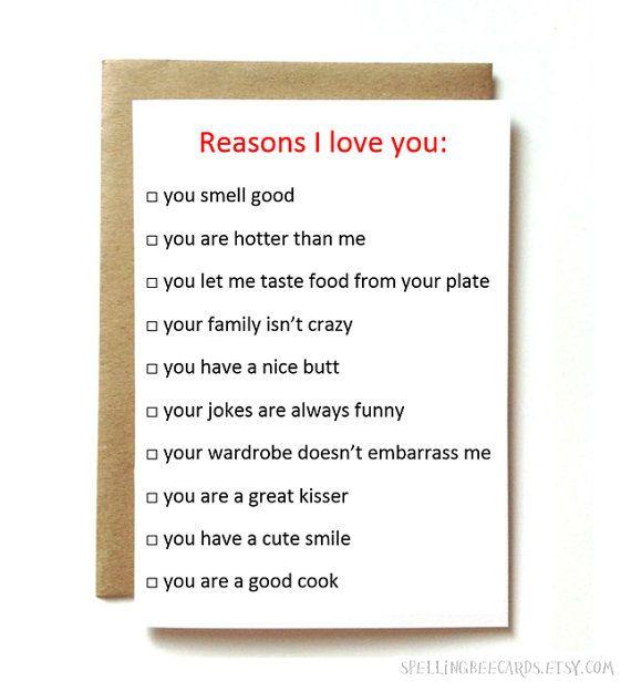 funny anniversary card, love card for boyfriend, girlfriend