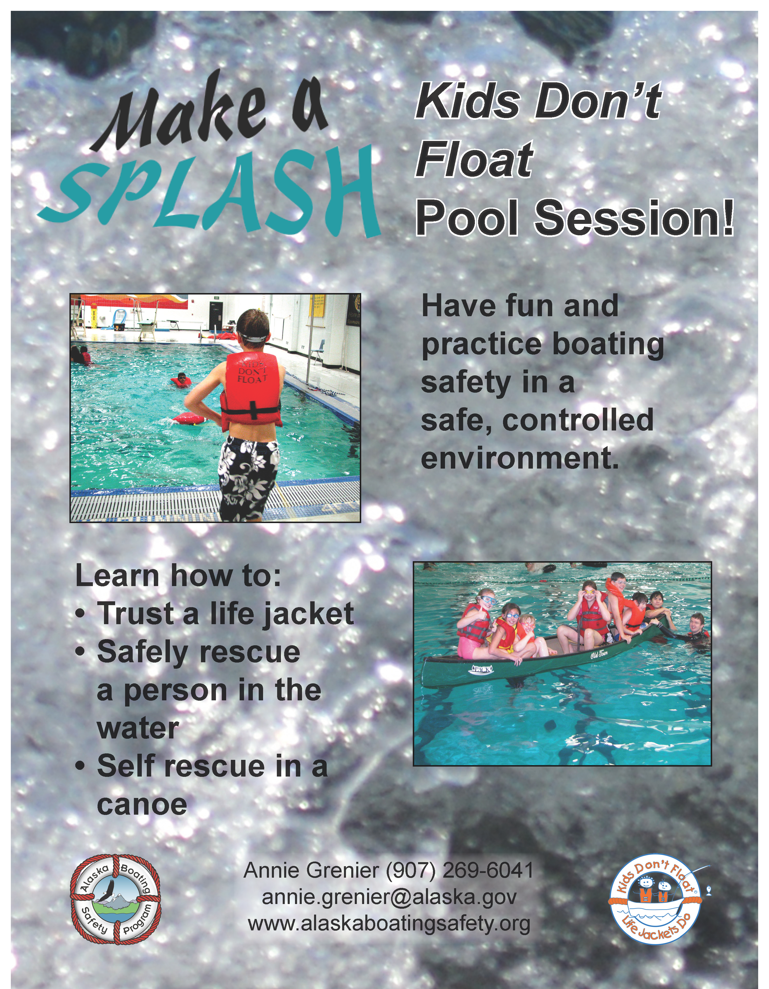 Kids Don T Float Educational Resources