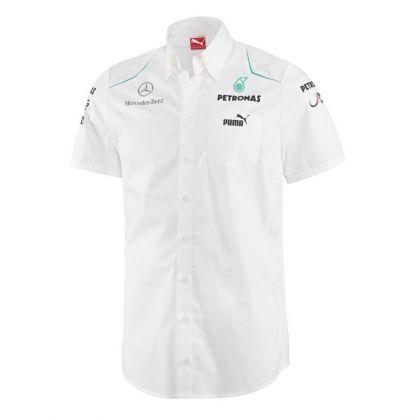 4e69bad215ad Mercedes AMG Petronas Puma Team Shirt - adult - white
