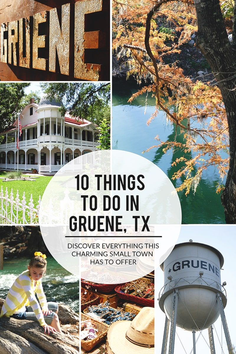 10 Things To Do In Gruene TX Sand Sun & Messy Buns