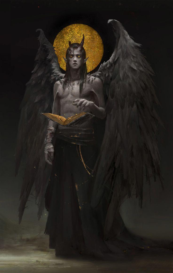 Photo of The dark Bible, HE XIAOSONG