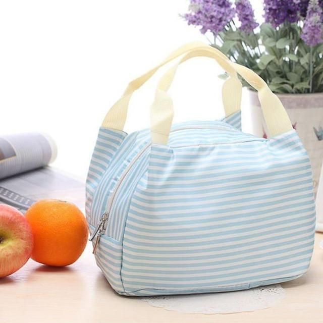 Fashionable Insulated Cooler Portable Lunch Bag