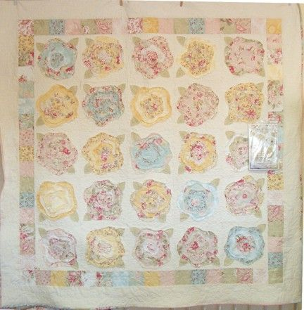 I Cant Wait To Make A French Rose Quilt 1 Quilt At A Time