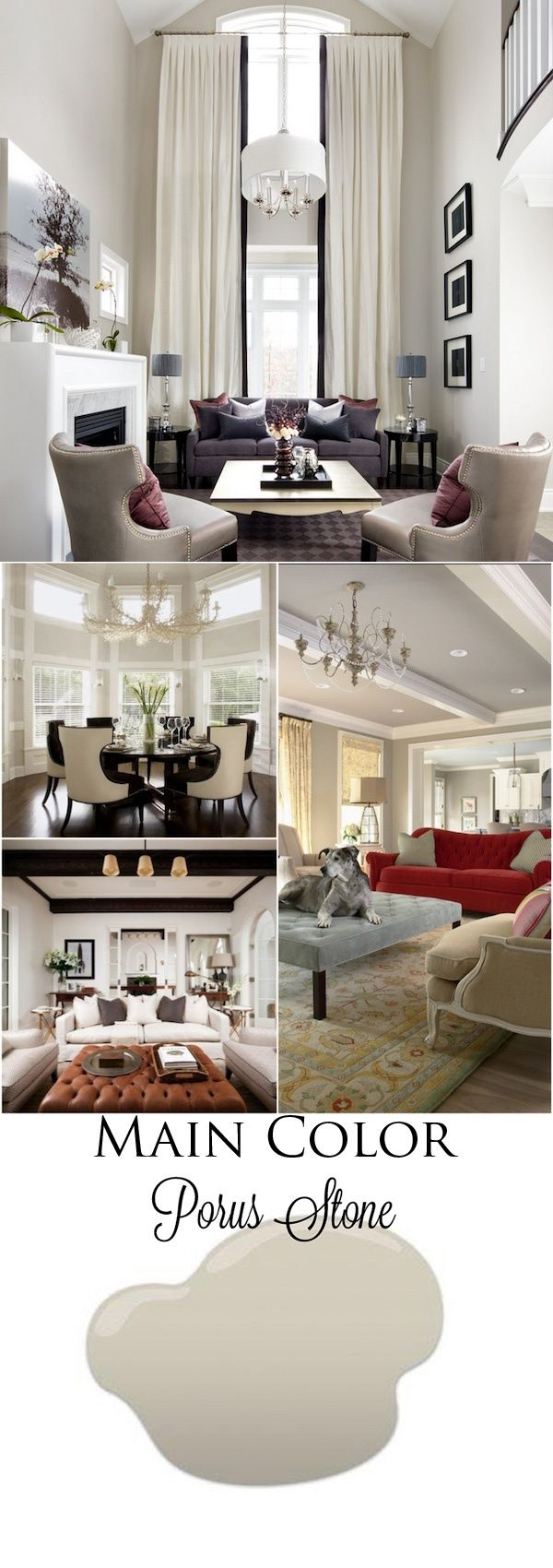The most gorgeous grey grey is the new beige dunn - Most popular colors for living rooms ...