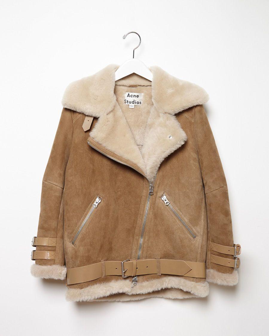 7448ac6f1774 Acne Studios   Velocite Oversized Shearling Jacket  fw14   style ...