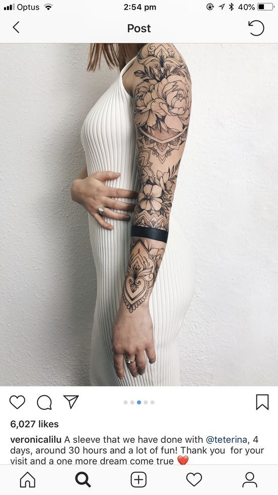 Tattoo Sleeve Tattoos For Women Sleeve Tattoos Hand Tattoos
