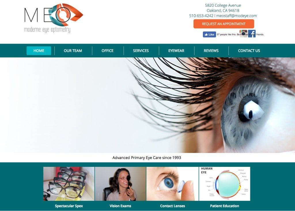 Specialty Eye Specialty Color Theme Green Orange Style Visual Optometry Patient Education Eyes