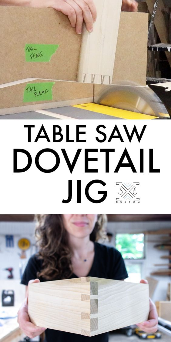 Photo of Dovetail Jig for the Table Saw — 3×3 Custom
