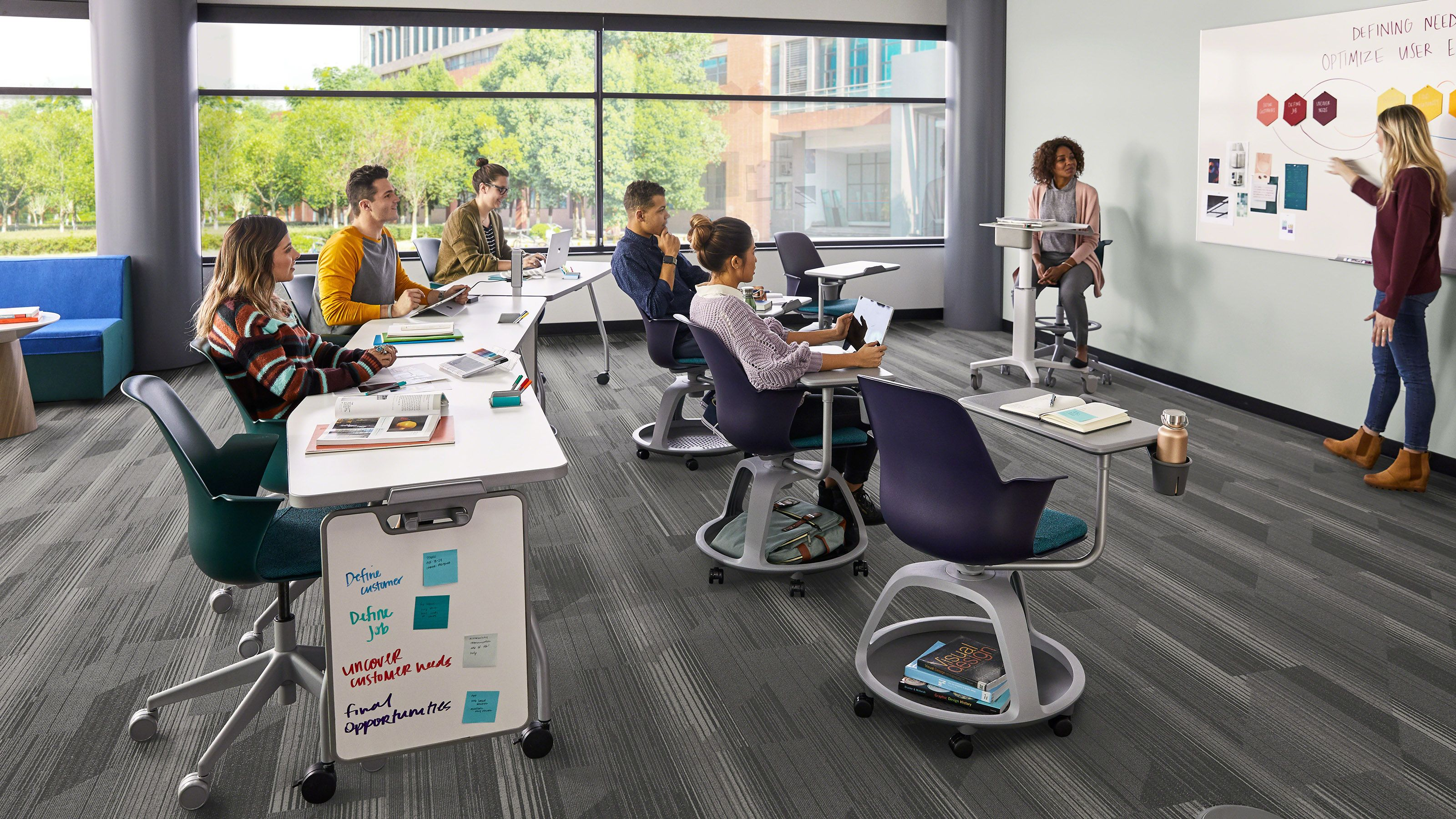Node With Images Classroom Seating Steelcase Learning Spaces