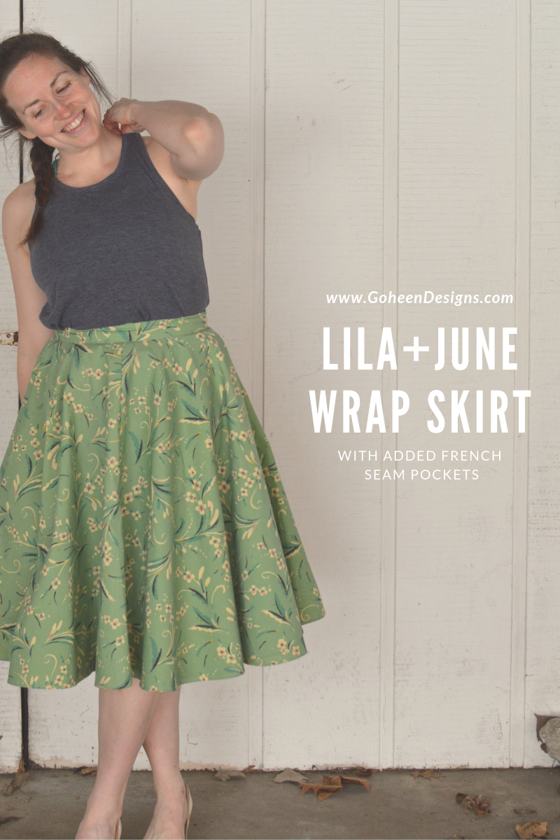 Lila And June Free Skirt Sewing Pattern Skirt Patterns Sewing Wrap Skirt Pattern Circle Skirt Pattern