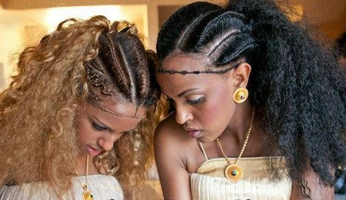 Ethiopian Braids Natural Hair Styles Goddess Braids Hairstyles Hair Styles