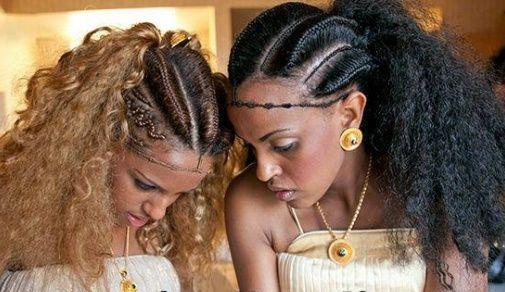 Ethiopian Braids Goddess Braids Hairstyles Natural Hair Styles Hair Styles