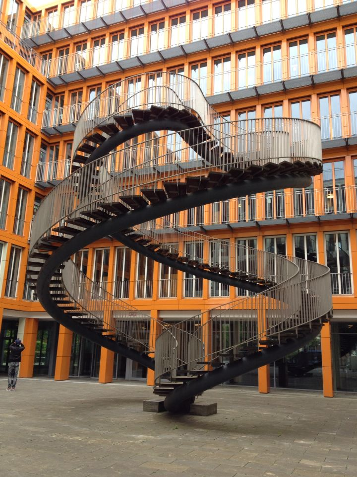 Treppen München die endlose treppe the endless staircase münchen architecture