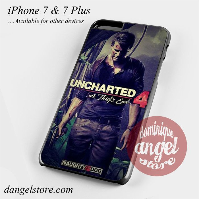 Uncharted 4 Video games Phone Case for iPhone 7 and iPhone 7 Plus