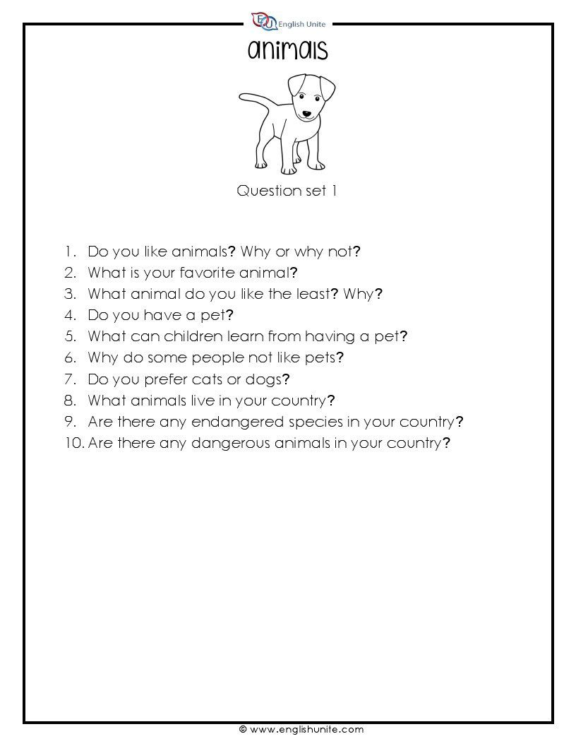 20 Questions Speaking Challenge Animals English Unite This Or That Questions Speaking Activities Speaking Activities Esl