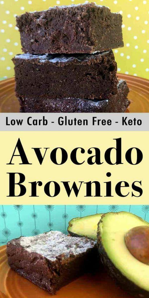 Low Carb Keto Avocado Brownies - Resolution Eats