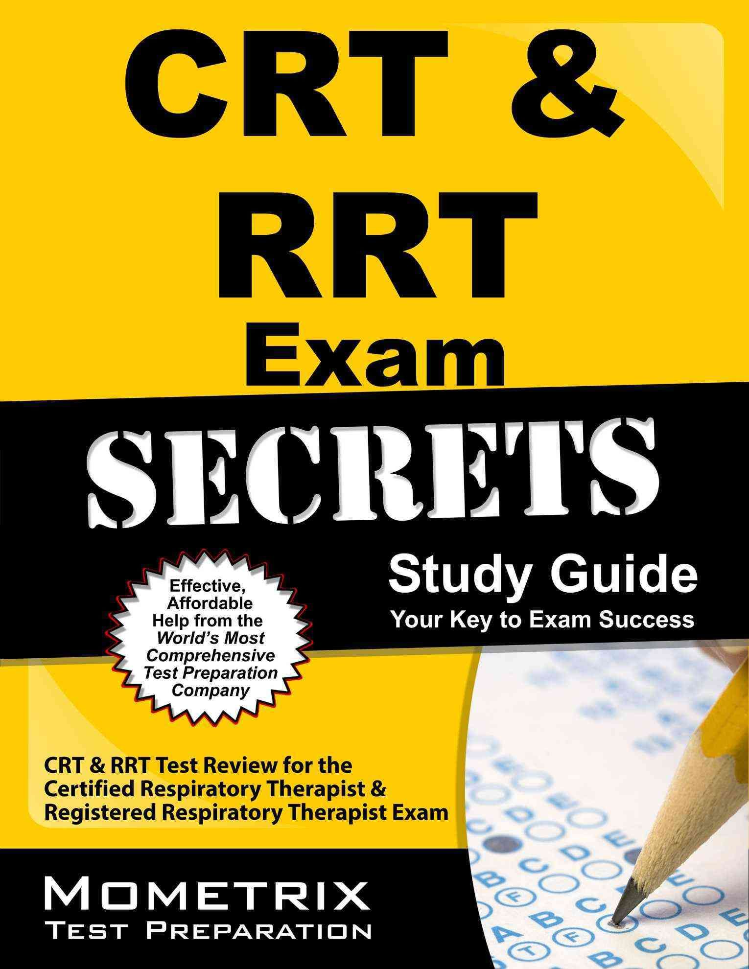 Crt Rrt Exam Secrets Your Key To Exam Success Crt Rrt Test