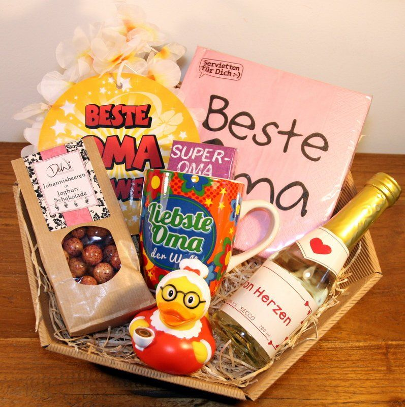 Beste Oma Geschenke Geschenkkorb Von Gift2goshop Auf Etsy Mit