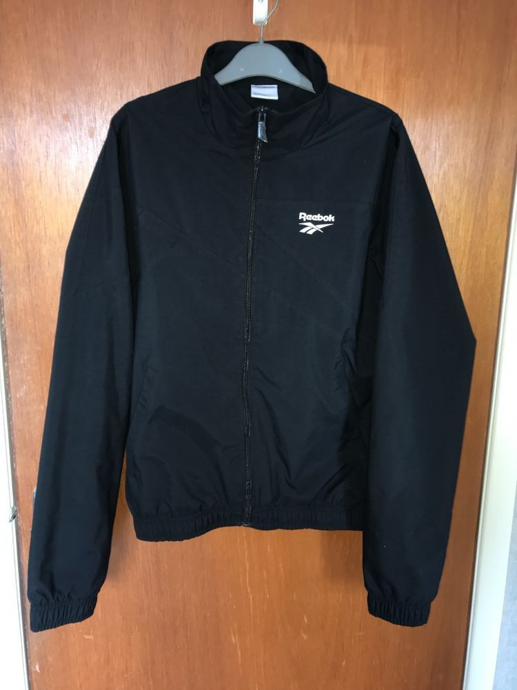 Reebok Classic Track Top black size small mens