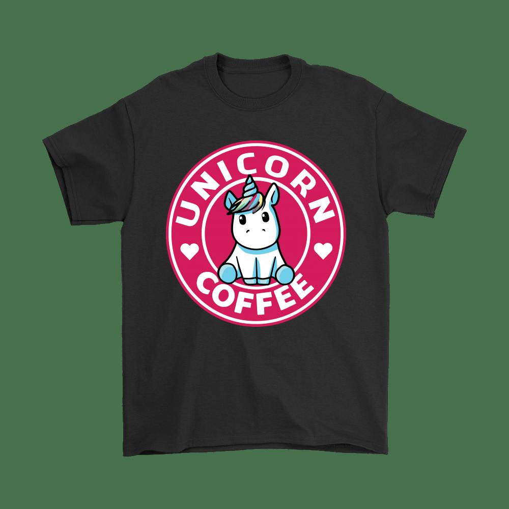 Unicorn Coffee Mashup Starbucks Logo Shirts The Daily