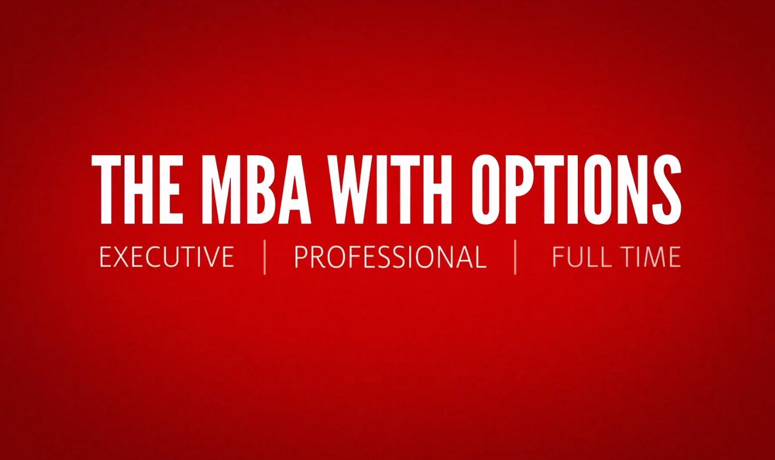 The Bauer MBA at University of Houston is truly the MBA
