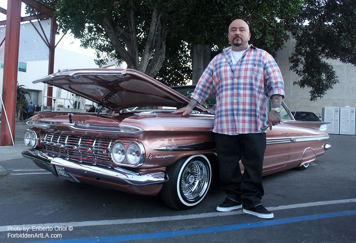Mr Cartoon And His Proudly 59 Chevy Impala From Lifestyle C C