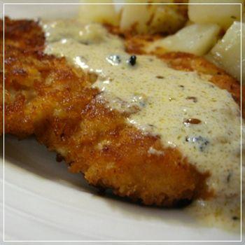 Chicken Schnitzel - scroll way down to bottom for recipe