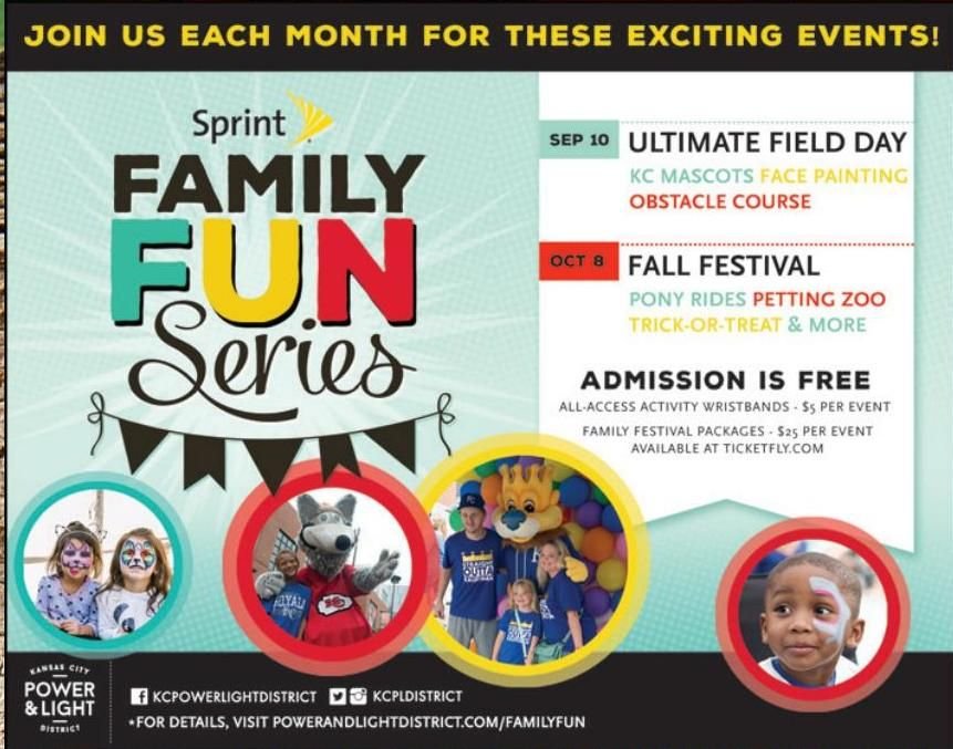iFamily KC September 2016 Birthday party locations
