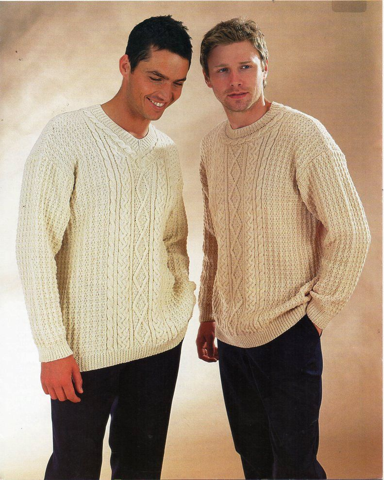 3e6c42809dee2 mens aran sweaters waistcoat knitting pattern PDF DK mans cable jumpers  vest 38-48 inch DK light worsted 8ply Instant Download by Hobohooks on Etsy