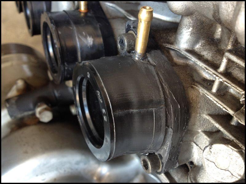 1982 Yamaha Xj550 Intake Manifold Boot Repair Motorcycle Repair Yamaha Repair