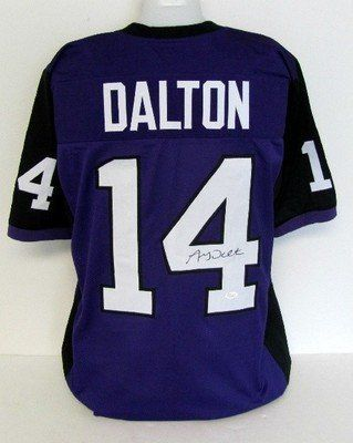 signed andy dalton jersey