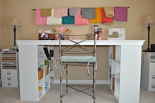 3x6 of workspace and a ton of storage muebles pinterest