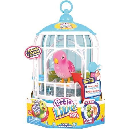 Little Live Pets Cage 3 Rare Pink Bird Cage Little Live Pets Pet Bird Cage Pet Cage